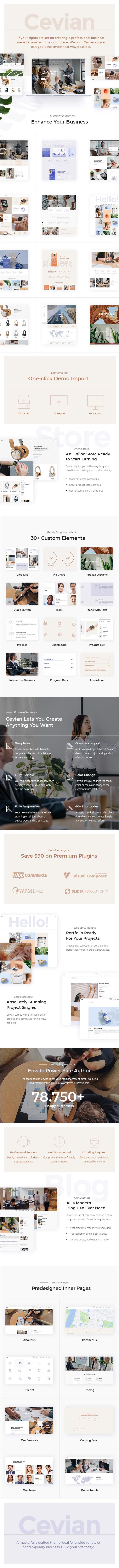 Cevian - Multipurpose Business Theme - 1